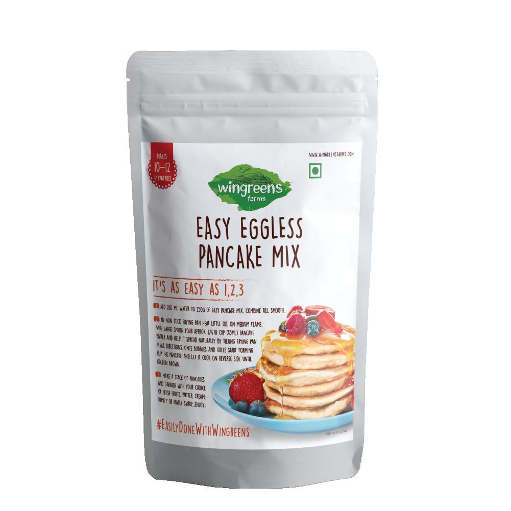 Easy Eggless Pancake Mix (250g)