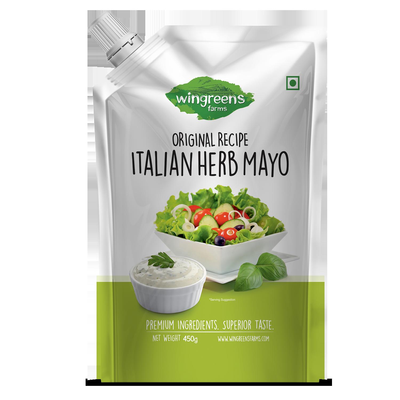 Italian Herb Mayo (Pack of 1-450g)