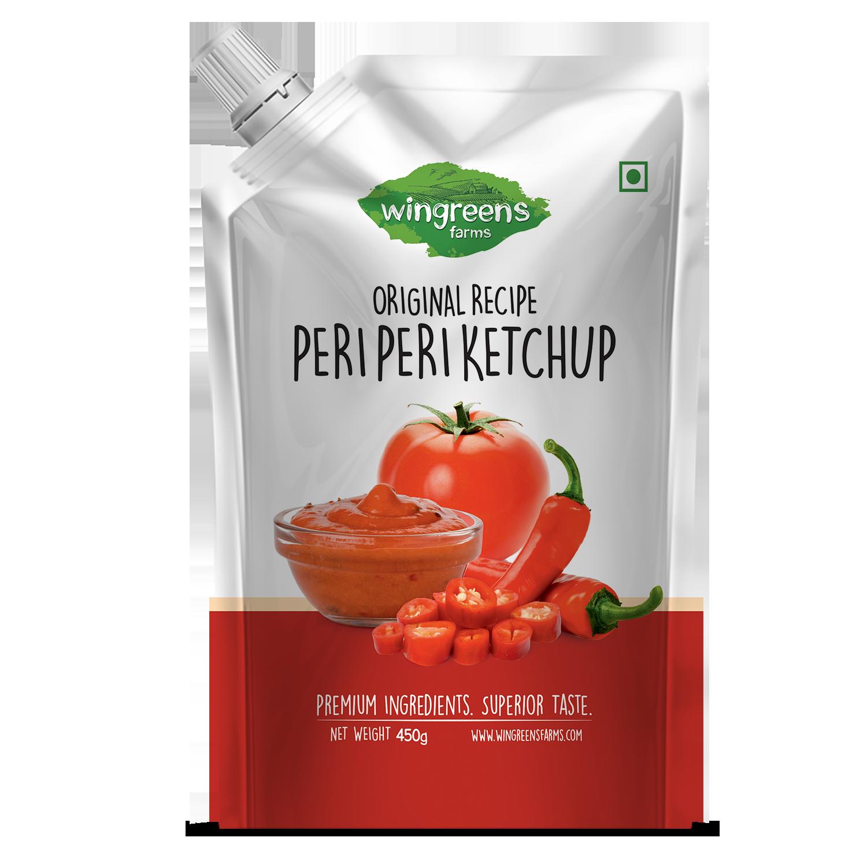 Peri Peri Ketchup (Pack of 1- 450g)