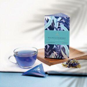 BLUE PEA & CHAMOMILE - Herbal tea | 15 Tea Bags
