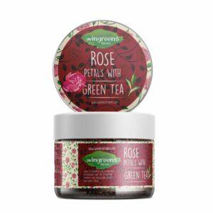 Rose Petals with Green Tea (60g)