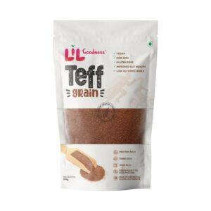 Lil'Goodness Teff Grain | Vegan | Non GMO | Gluten Free | Improves Gut Health | Low Glycemic Index | 200g