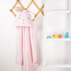 Kicks & Crawl- Cute Kitty Hooded Towel