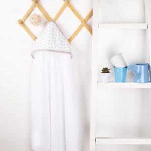 Kicks & Crawl- Star & Shine Muslin Hooded Towel