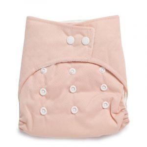 Kicks & Crawl- Reusable Peach Cloth Diaper