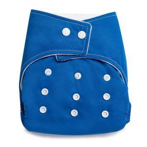 Kicks & Crawl- ReusableNavy Blue Cloth Diaper