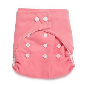 Kicks & Crawl- Reusable Pink Cloth Diaper