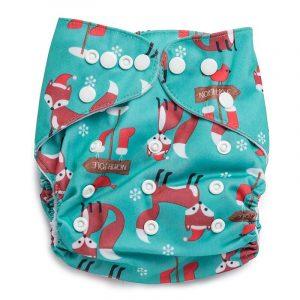 Kicks & Crawl- North Pole Reusable Diaper