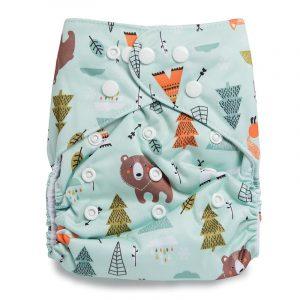 Kicks & Crawl- Fun in Forest Reusable Diaper