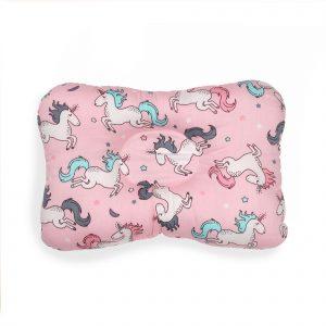 Kicks & Crawl- Pink Unicorn Baby Pillow