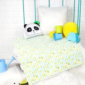 Kicks & Crawl- Multicolored Waterproof Bed Sheet