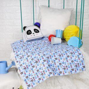Kicks & Crawl- Baby Boy Waterproof Bed Sheet