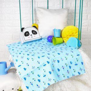 Kicks & Crawl- City Crawler Waterproof Bed Sheet