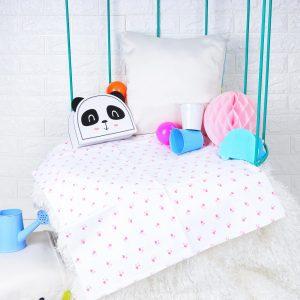 Kicks & Crawl- Baby Hearts Waterproof Bed Sheet