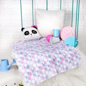 Kicks & Crawl- Cloudy Dreams Waterproof Bed Sheet