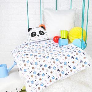 Kicks & Crawl- Have a Ball Waterproof Bed Sheet