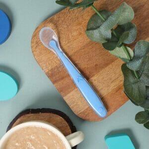 Kicks & Crawl- Dark Blue long Silicone Spoon
