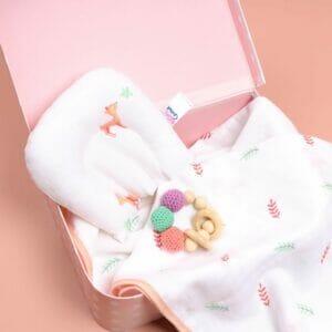 Kicks & Crawl- Baby Deer Organic Baby Pillow