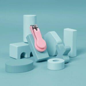 Kicks & Crawl- Happy Fingers Baby Nail Clippers - Pink