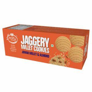 Jowar Almond Jaggery Cookies 150g
