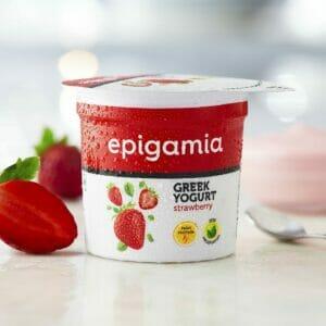 Greek Yogurt, Strawberry - 90 gm