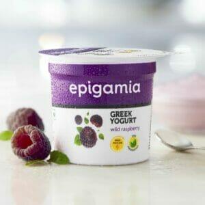 Greek Yogurt, Wild Raspberry - 90 gm