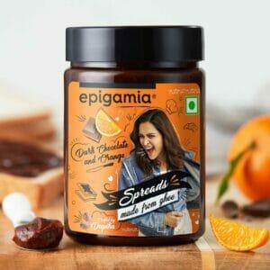 Dark Chocolate and Orange Spread - 250 gm