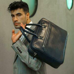 "Rashki Premio Vegan Leather 14.5"" Laptop Bag"
