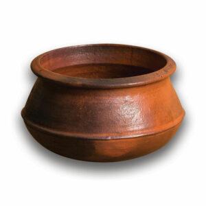 CLAY RICE/BIRYANI POT MEDIUM(Brown)