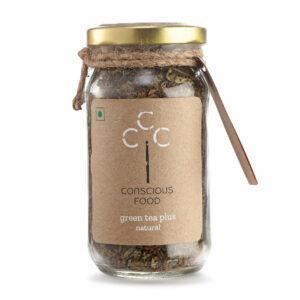 Conscious Food Natural Green Tea Plus, 50g