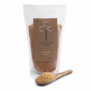 Conscious Food Natural Raw Sugar 1 kg