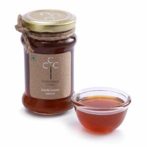 Conscious Food Natural Harde Honey, 200g