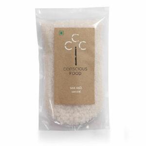 Conscious Food Natural Sea Salt, 500g