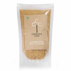 Conscious Food Organic Coriander Powder, 100g
