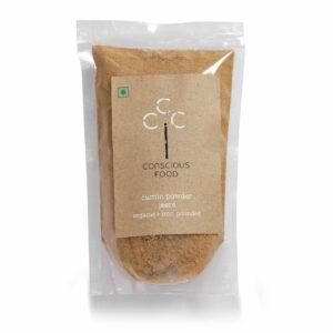 Conscious Food Organic Cumin Powder, 100g