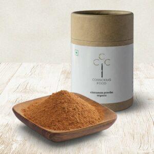 Conscious Food Organic Cinnamon Powder, 50g