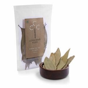 Conscious Food Organic Indian Bay Leaf (Tej Patta), 10g
