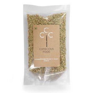 Conscious Food Organic Aniseed (Saunf), 100g