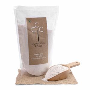 Conscious Food Organic Barley Flour, 500g
