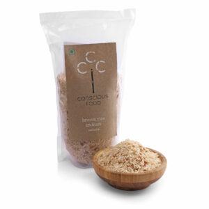 Conscious Food Organic Brown Rice (Indrani), 500g