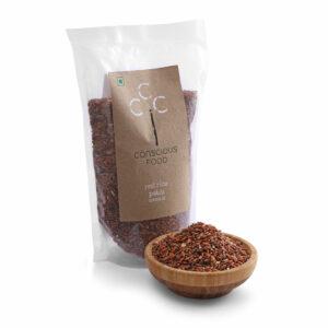 Conscious Food Natural Red Rice (Patni), 500g