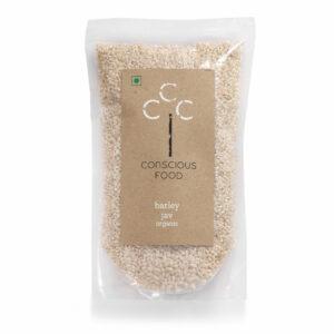Conscious Food Organic Barley, 500g
