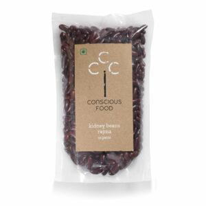 Conscious Food Organic Rajma, 500g