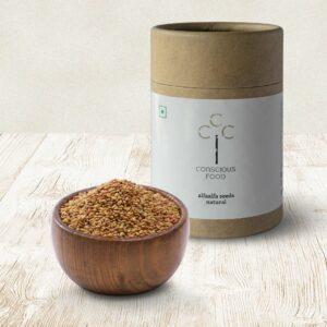 Conscious Food Natural Alfalfa Seeds, 200g