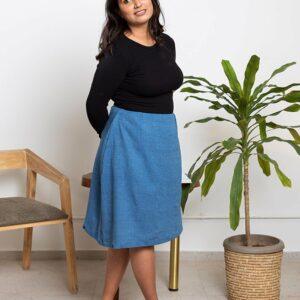 Celeste Skirt(Blue)