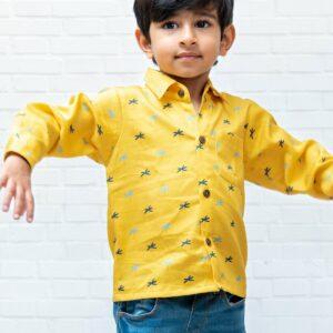 Sunny Palm Formal Shirt