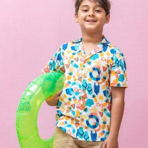Summer Daze Aloha Shirt