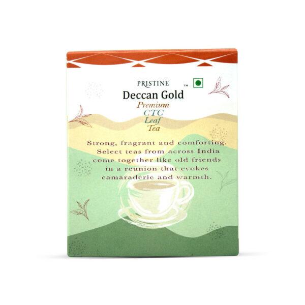 PRISTINE Deccan GoldPremium CTC Leaf Tea, 500 gm Pack of 3
