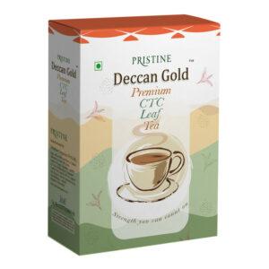 PRISTINE Deccan GoldPremium CTC Leaf Tea, 500 gm Pack of 4