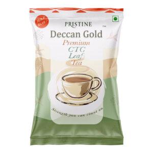 PRISTINE Deccan GoldPremium CTC Leaf Tea, 30 gm Pack of 4